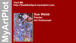 Sue Webb's business card